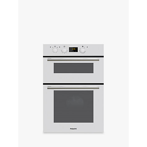 buy hotpoint dd2540 builtin double oven online at