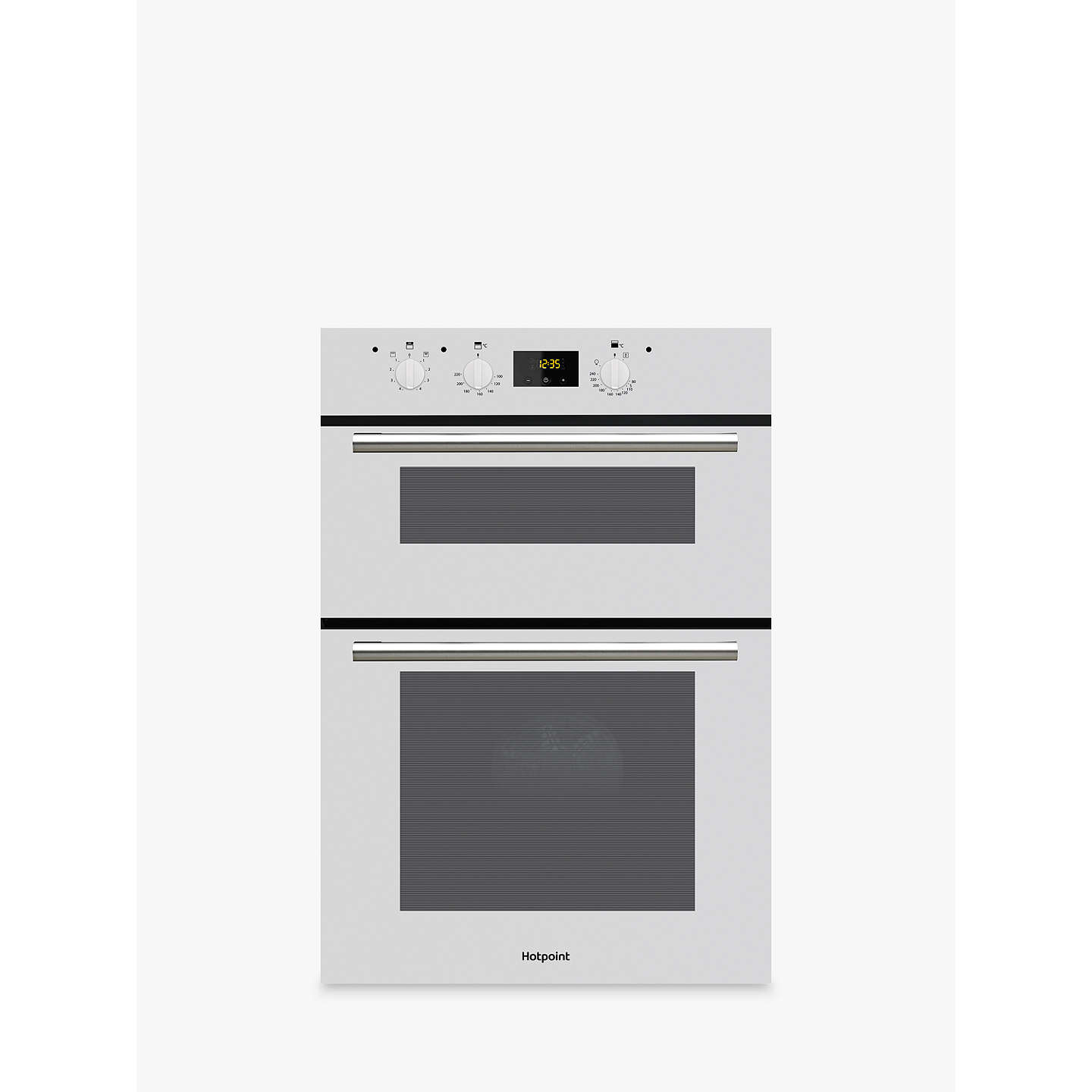 hotpoint dd2540wh class 2 built in double oven white at. Black Bedroom Furniture Sets. Home Design Ideas