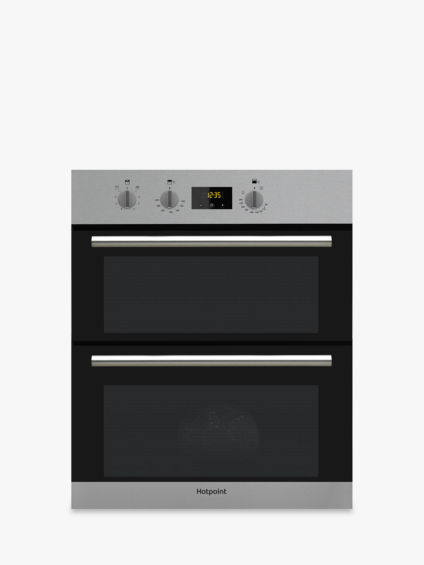 Hotpoint Du2540 Class 2 Built Under Electric Double Oven B B Energy Rating Stainless Steel Inox