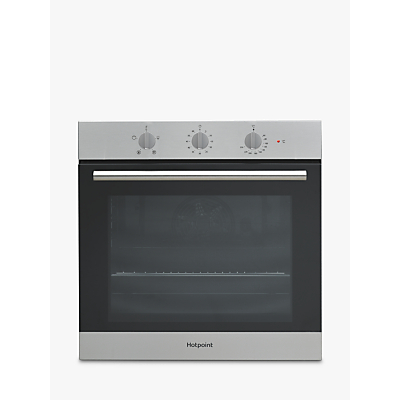Image of Hotpoint SA3330H Class 3 Built-In Electric Single Oven, Stainless Steel