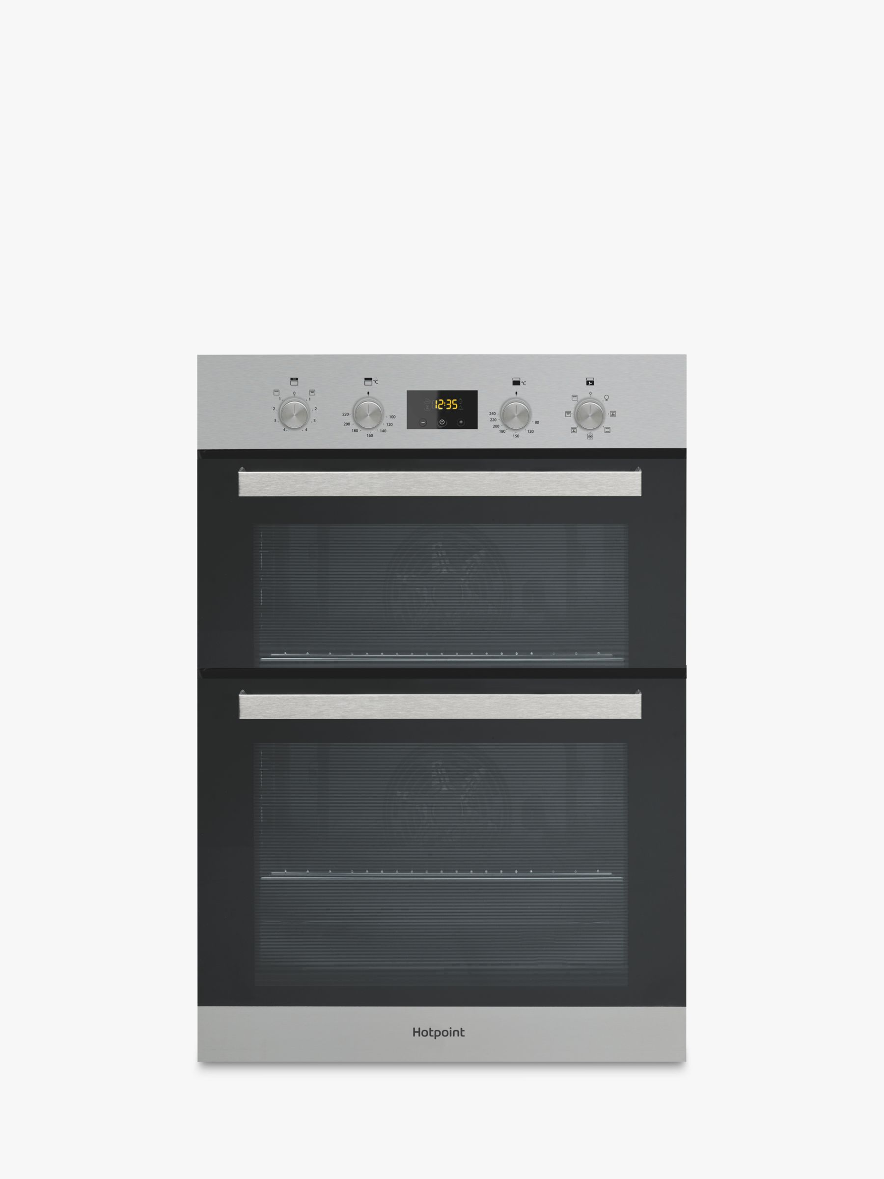 Hotpoint Hotpoint DKD3841 Built-In Electric Double Oven, Inox