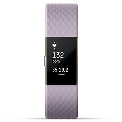 Fitbit Charge 2 Heart Rate and Fitness Tracking Wristband Special Edition, Large