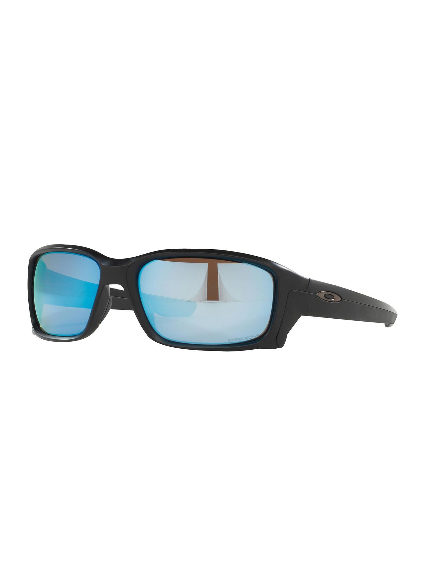 784eb47ebf BuyOakley OO9331 Straightlink Prizm Daily Polarised Rectangular Sunglasses