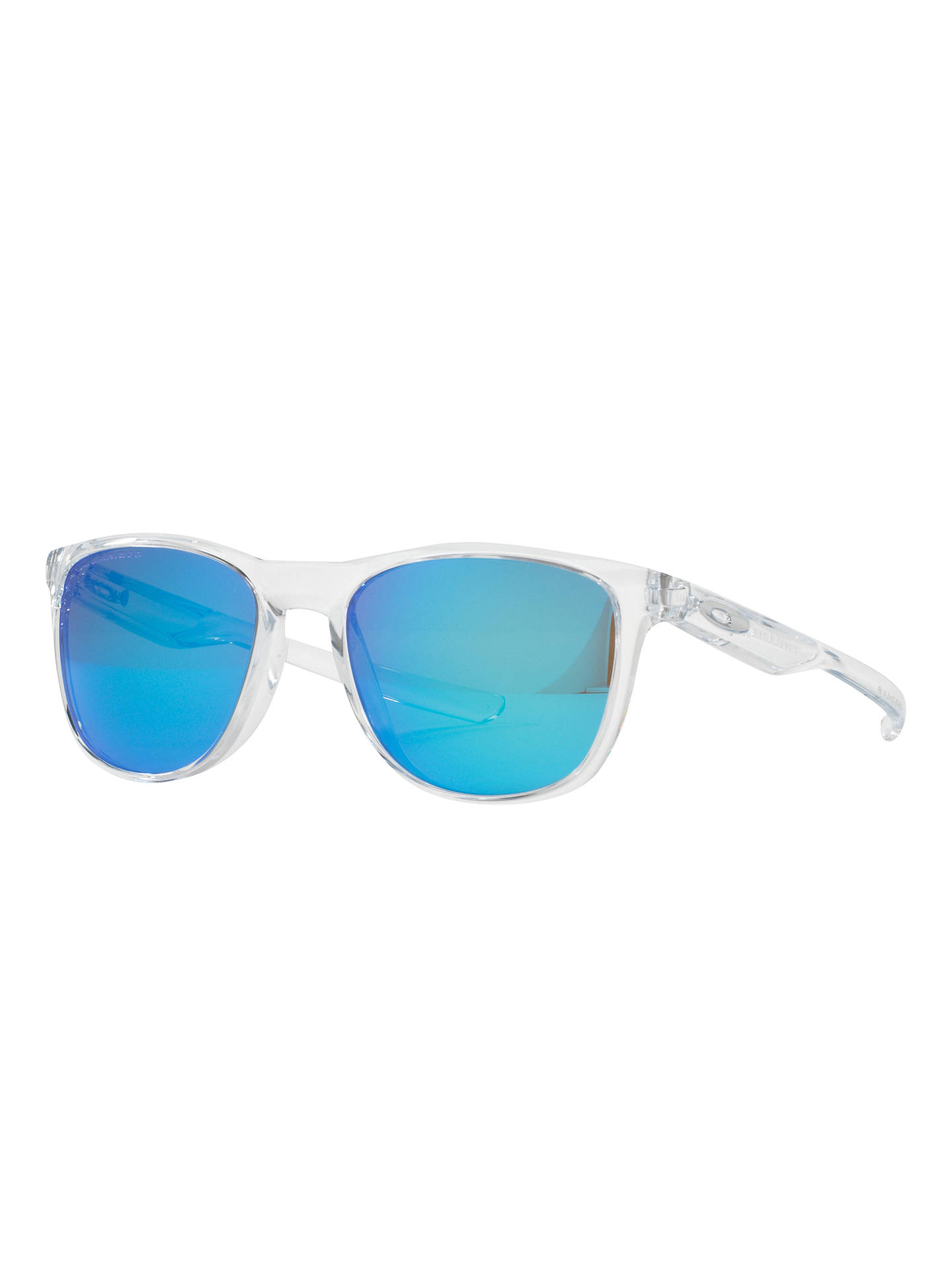 72c92441fb Oakley OO9340 Trillbe X Polarised Square Sunglasses at John Lewis ...