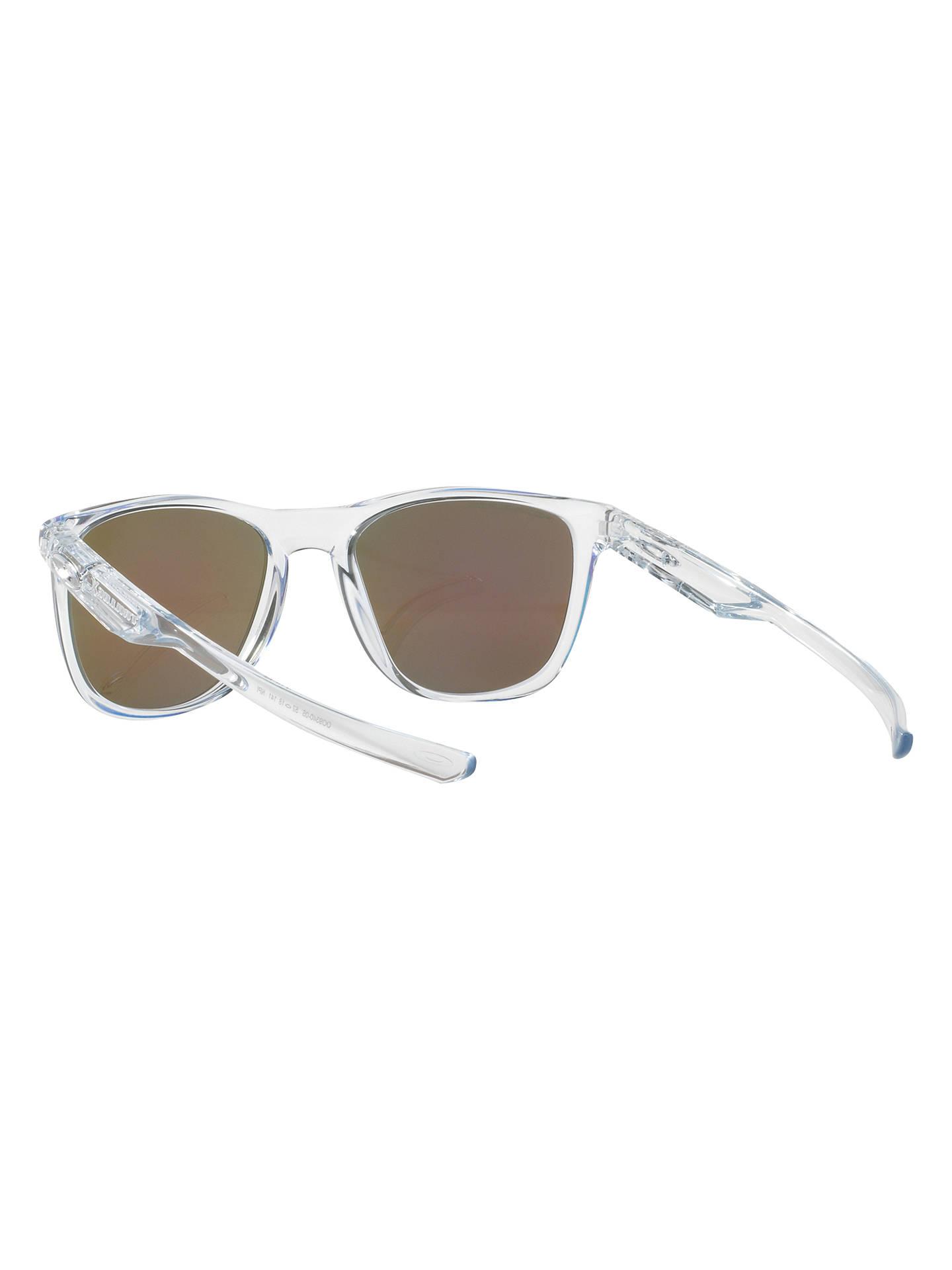fe85423adcf Oakley OO9340 Trillbe X Polarised Square Sunglasses at John Lewis ...
