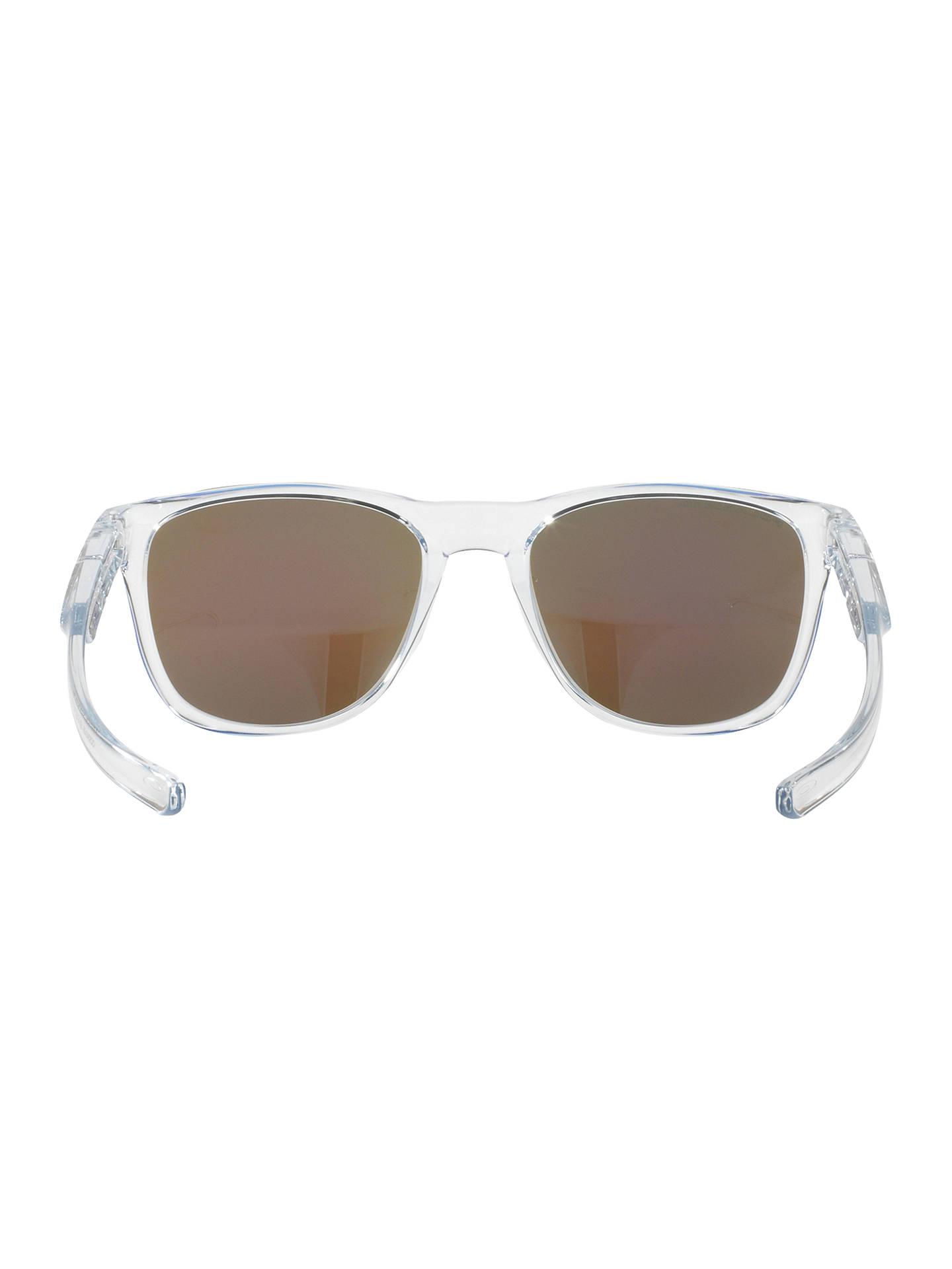 662cf2e7ef Oakley OO9340 Trillbe X Polarised Square Sunglasses at John Lewis ...