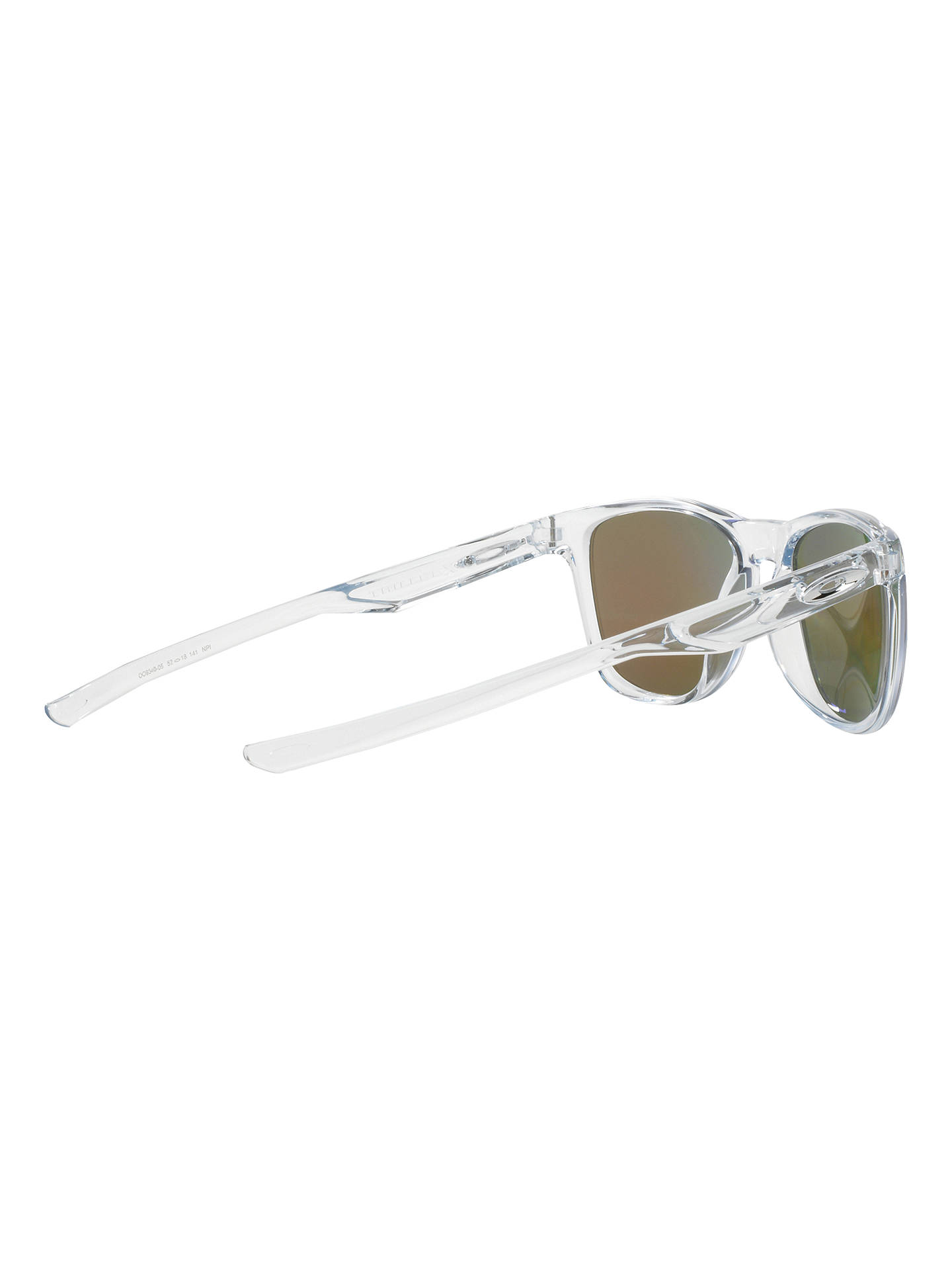 7ab479d78f Oakley OO9340 Trillbe X Polarised Square Sunglasses at John Lewis ...