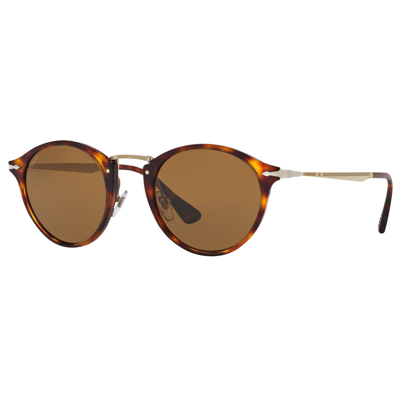 Cheap Cheap Persol Po3166s Calligrapher Edition Oval Sunglasses Tortoise/Dark Green for Men On Sale Online