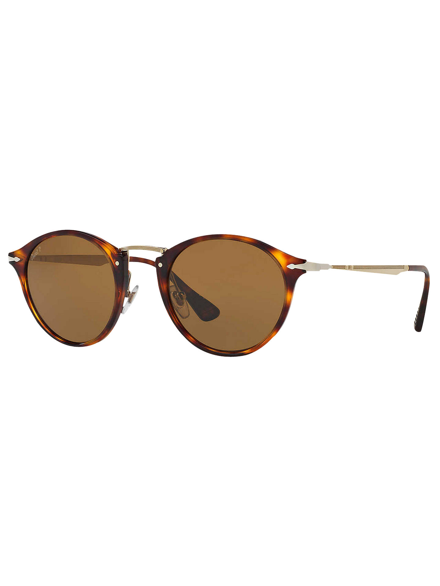 ebf9069324 Persol PO3166S Calligrapher Edition Polarised Oval Sunglasses at ...