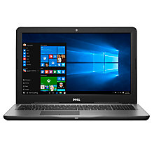 "Buy Dell Inspiron 15 5000 Laptop, Intel Core i7, 16GB RAM, 2TB, 15.6"" Online at johnlewis.com"