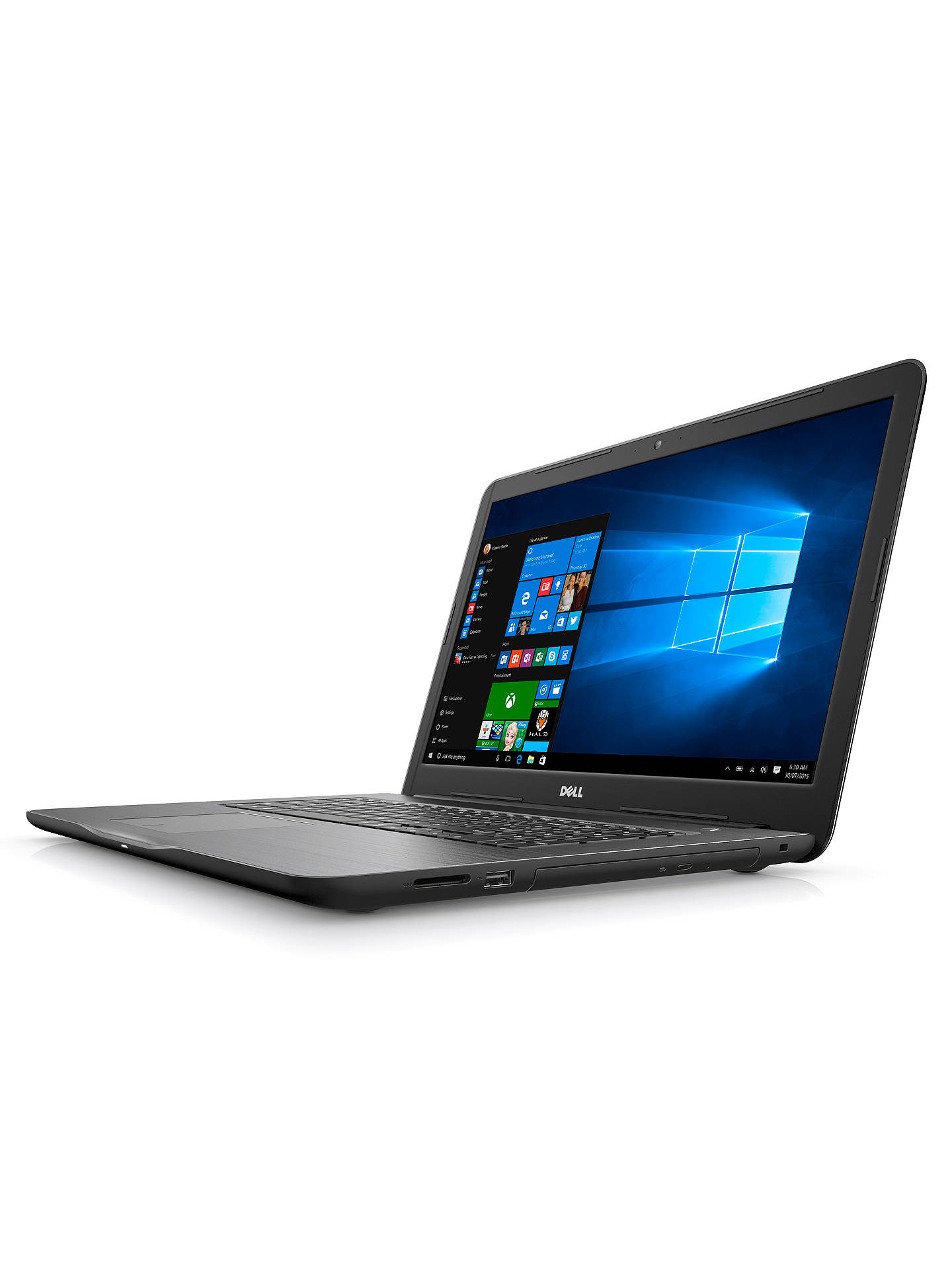 "Buy Dell Inspiron 17 5000 Series Laptop, Intel Core i7, 8GB RAM, 1TB, AMD Radeon R7, 17.3"" Full HD, Black Online at johnlewis.com"