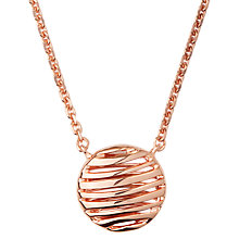 Buy Links of London Sterling Silver Thames Pendant Necklace Online at johnlewis.com