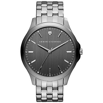 armani exchange men's bracelet strap watch