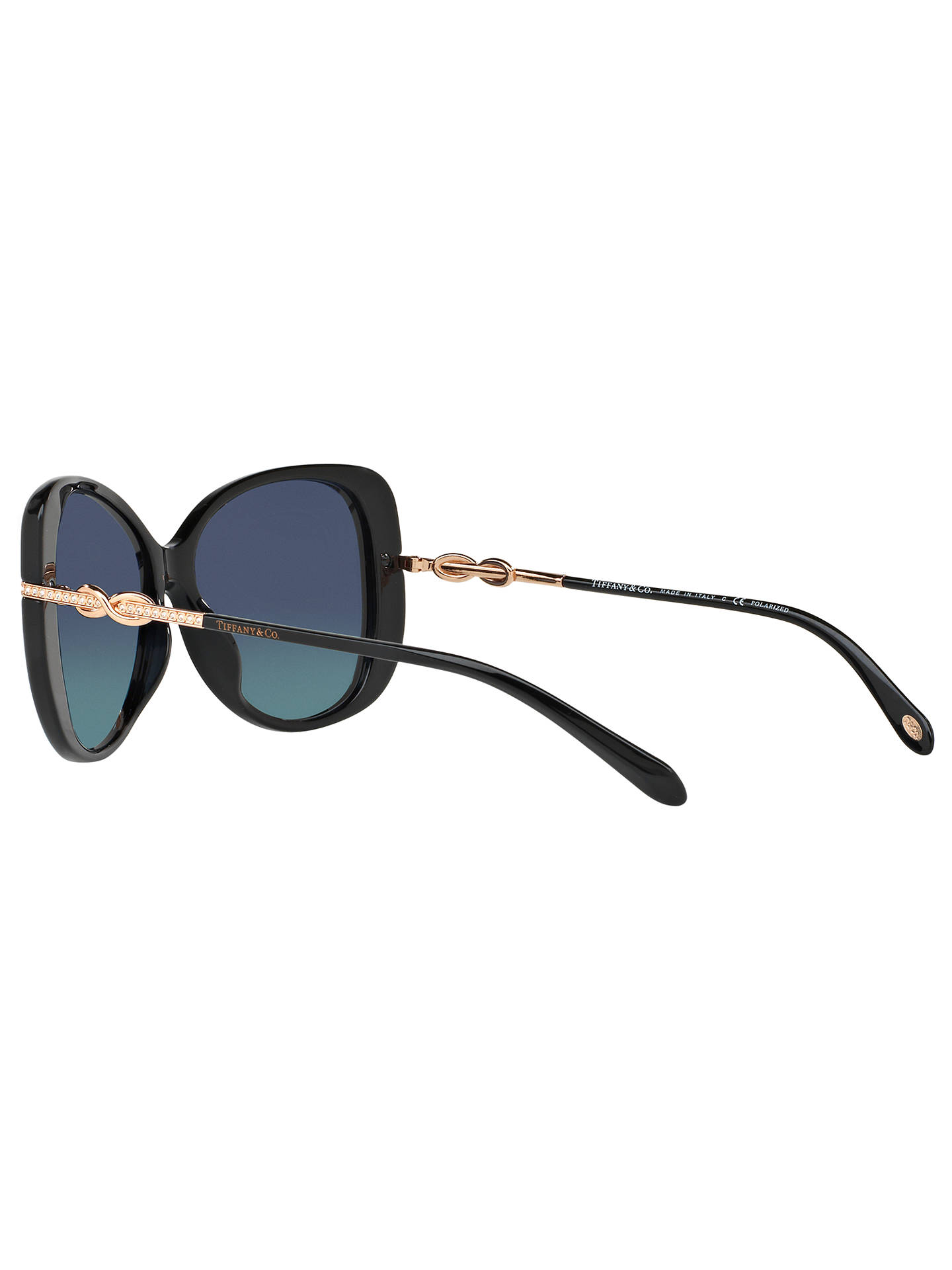 d49966e51344 ... Buy Tiffany   Co TF4126B Polarised Embellished Cat s Eye Sunglasses