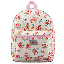 Buy Cath Kidston Children's Daisy Print Rucksack, White/Pink Online at johnlewis.com