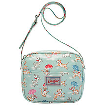 Buy Cath Kidston Children's Raining Cats and Dogs Cross Body Handbag, Blue Online at johnlewis.com