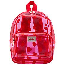 Buy Cath Kidston Children's Spot PVC Backpack, Pink Online at johnlewis.com