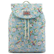 Buy Cath Kidston Children's Parakeets Sum Backpack, Blue Online at johnlewis.com