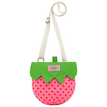 Buy Cath Kidston Children's Strawberry Handbag, Pink Online at johnlewis.com
