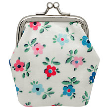 Buy Cath Kidston Children's Daisy Mini Clasp Purse, Cream Online at johnlewis.com