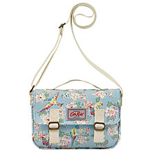 Buy Cath Kidston Children's Parakeets Mini Satchel, Blue Online at johnlewis.com