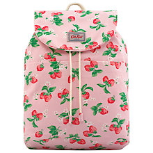Buy Cath Kidston Children's Strawberry Sum Backpack, Pink Online at johnlewis.com