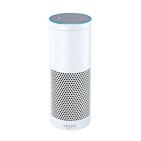 Buy Amazon Echo Smart Speaker with Alexa Voice Recognition & Control Online at johnlewis.com