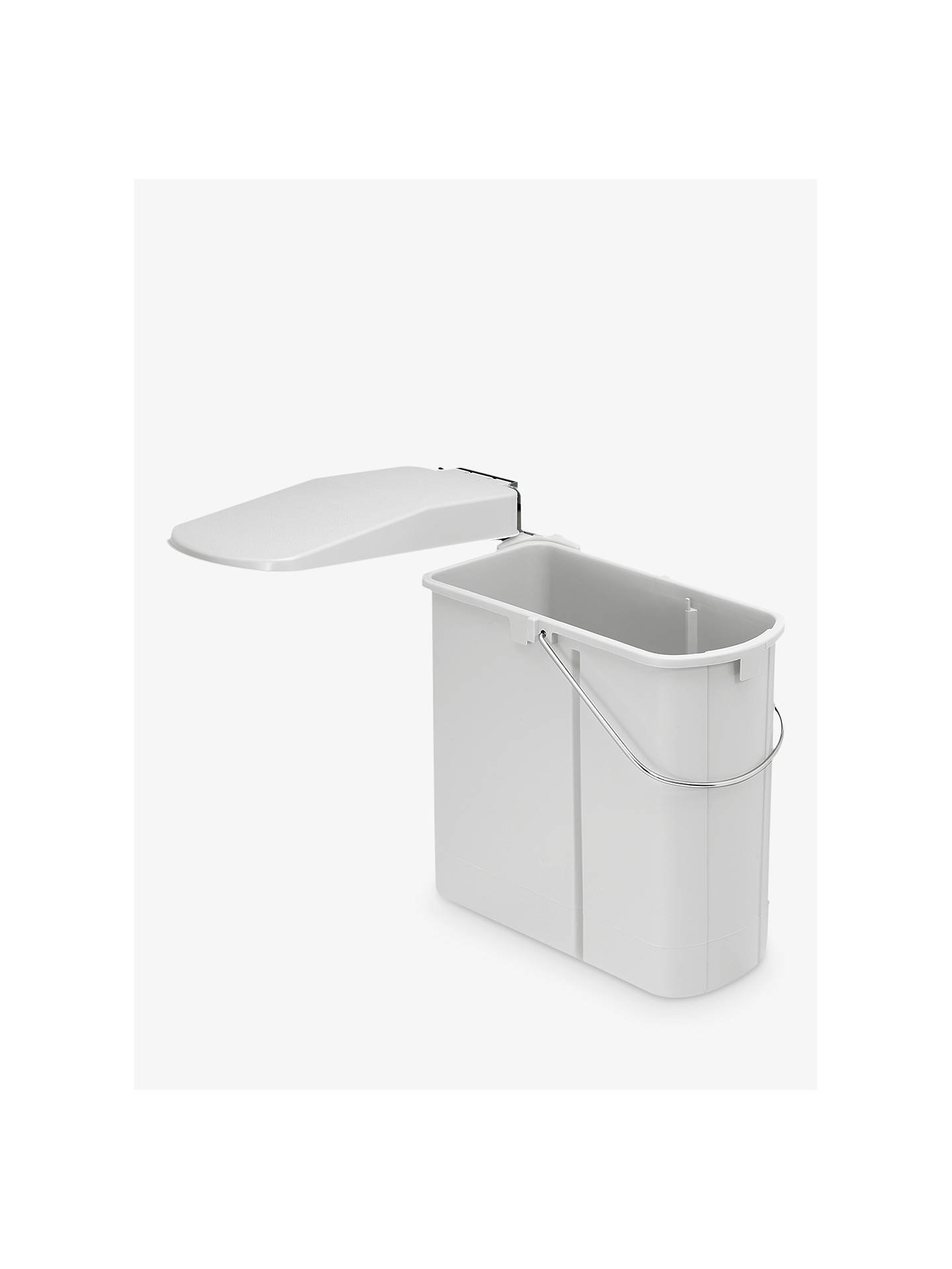 BuyWesco Slim Kitchen Bin, 19L, Plastic Online at johnlewis.com