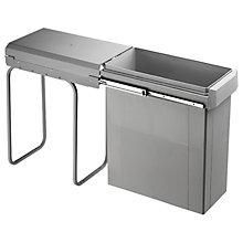 Buy Wesco Single Pull-Out Kitchen Bin, 40L Online at johnlewis.com