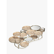 Buy John Lewis Mirror Tealight Holder, Small Online at johnlewis.com
