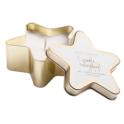 Katie Loxton 'Sparkle Everyday' Almond and Cinnamon Scented Candle
