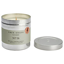 Buy True Grace Walled Garden Cucumber Scented Candle Tin Online at johnlewis.com