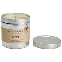 Buy True Grace Walled Garden Chamomile Scented Candle Tin Online at johnlewis.com
