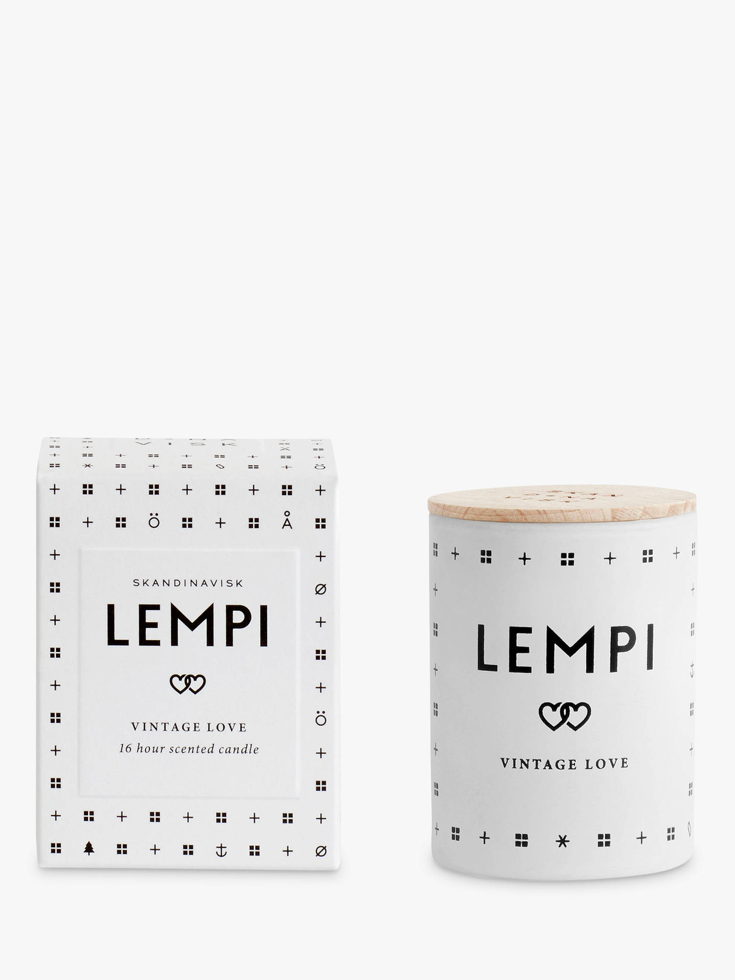 BuySKANDINAVISK Lempi Mini Scented Candle with Lid Online at johnlewis.com