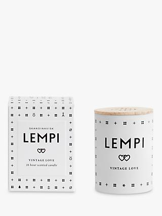SKANDINAVISK Lempi Mini Scented Candle with Lid