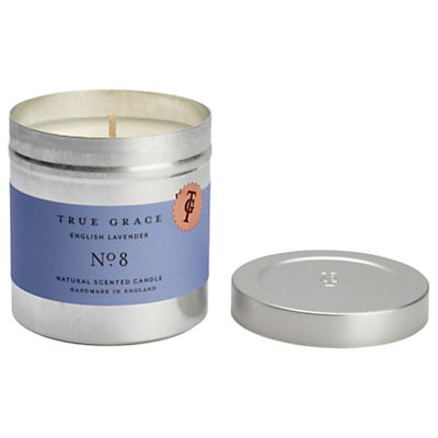 True Grace Walled Garden English Lavender Scented Candle Tin