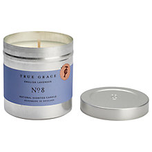 Buy True Grace Walled Garden English Lavender Scented Candle Tin Online at johnlewis.com