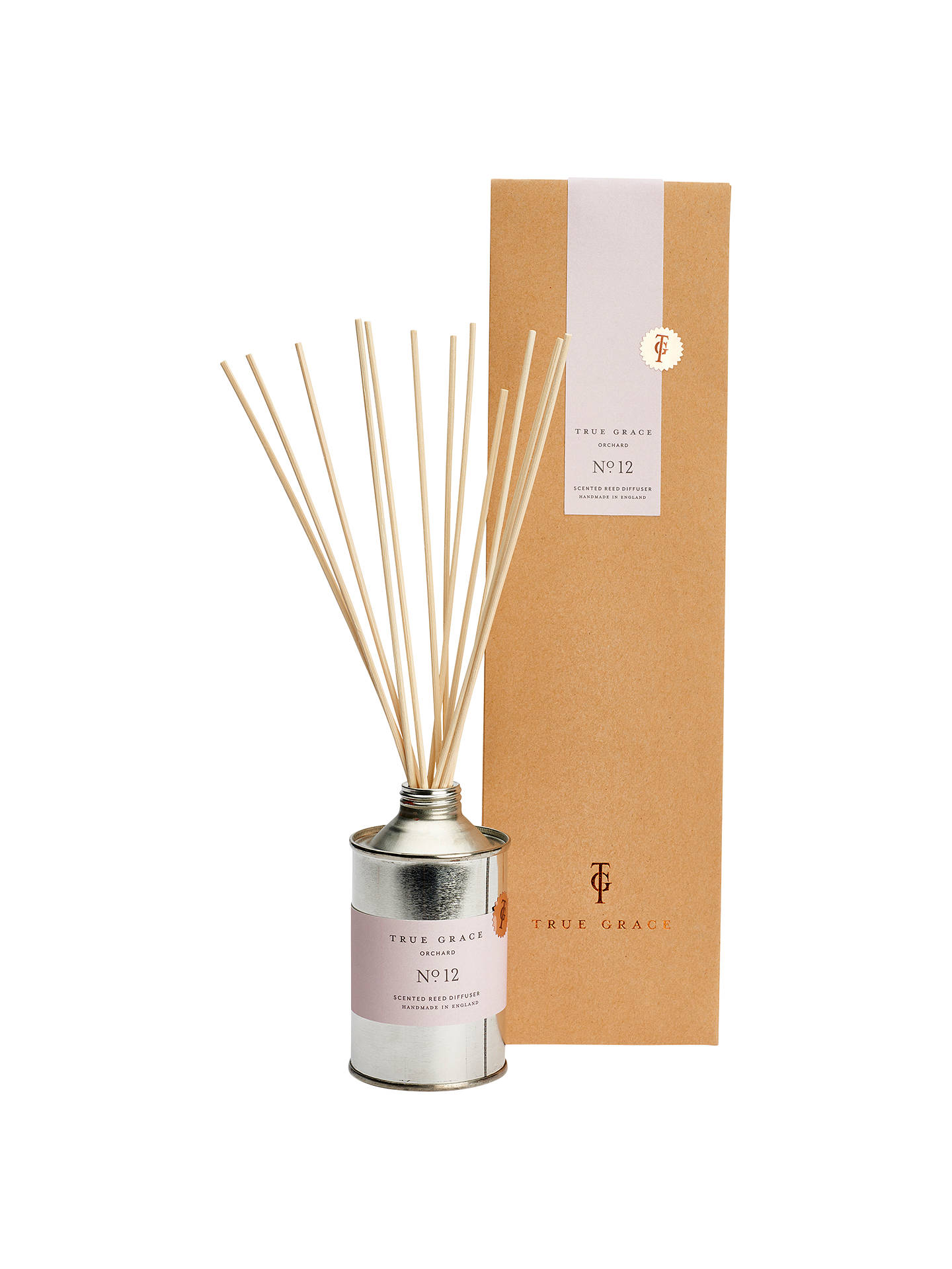 Buy True Grace Walled Garden Orchard Scented Reed Diffuser Online at johnlewis.com