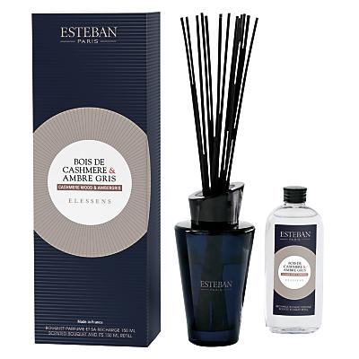 Esteban Cashmere Wood & Ambergris Diffuser, 150ml