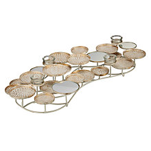 Buy John Lewis Mirror Tealight Holder, Large Online at johnlewis.com