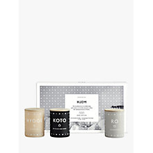 Buy SKANDINAVISK Home Mini Candle Gift Set, Set of 3 Online at johnlewis.com