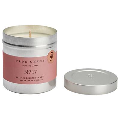 True Grace Walled Garden Vine Tomato Scented Candle Tin