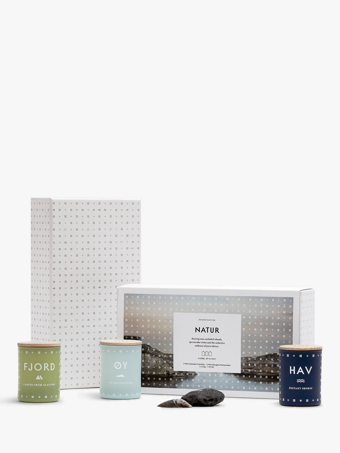 BuySKANDINAVISK Nature Mini Scented Candle Gift Set, Set of 3 Online at johnlewis.com