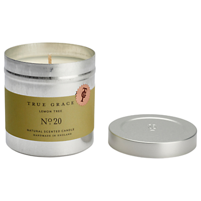 True Grace Walled Garden Lemon Tree Scented Candle Tin
