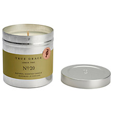 Buy True Grace Lemon Tree Scented Candle Tin Online at johnlewis.com