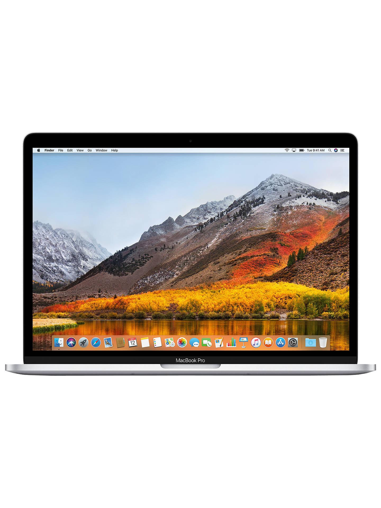 "2017 Apple MacBook Pro 13"" Touch Bar, Intel Core i5, 8GB RAM, 512GB SSD, Intel Iris Plus Graphics 650, Silver"