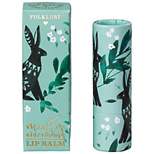 Buy Folklore Rabbit Mint Elderflower Lip Balm Online at johnlewis.com