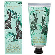 Buy Folklore Mint and Elderflower Rabbit Hand Cream Online at johnlewis.com