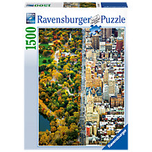 Buy Ravensburger Divided City New York Jigsaw Puzzle, 1500 pieces Online at johnlewis.com