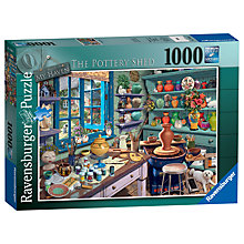 Buy Ravensburger The Pottery Shed Jigsaw Puzzle, 1000 pieces Online at johnlewis.com
